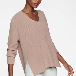 Athleta Switchback Pullover sweater